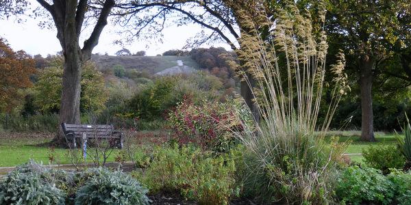 Whiteleaf Cross from Stratton Memorial Garden - Tony Hennel