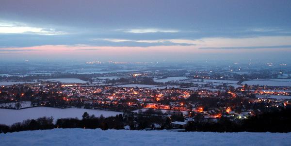 Risborough in the snow - Tim Addison